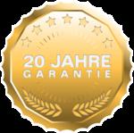 20 Jahre Garantie auf GUARDI Gartenboxen aus Stahl