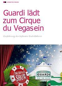 Textauszug aus dem FOBS Magazin über das geplante Event von GUARDI im Mai 2019