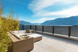 Guardi, Österreich, Terrasse, Balkongeländer, alubalkon, sichtschutzzaun, terrassen sichtschutz,