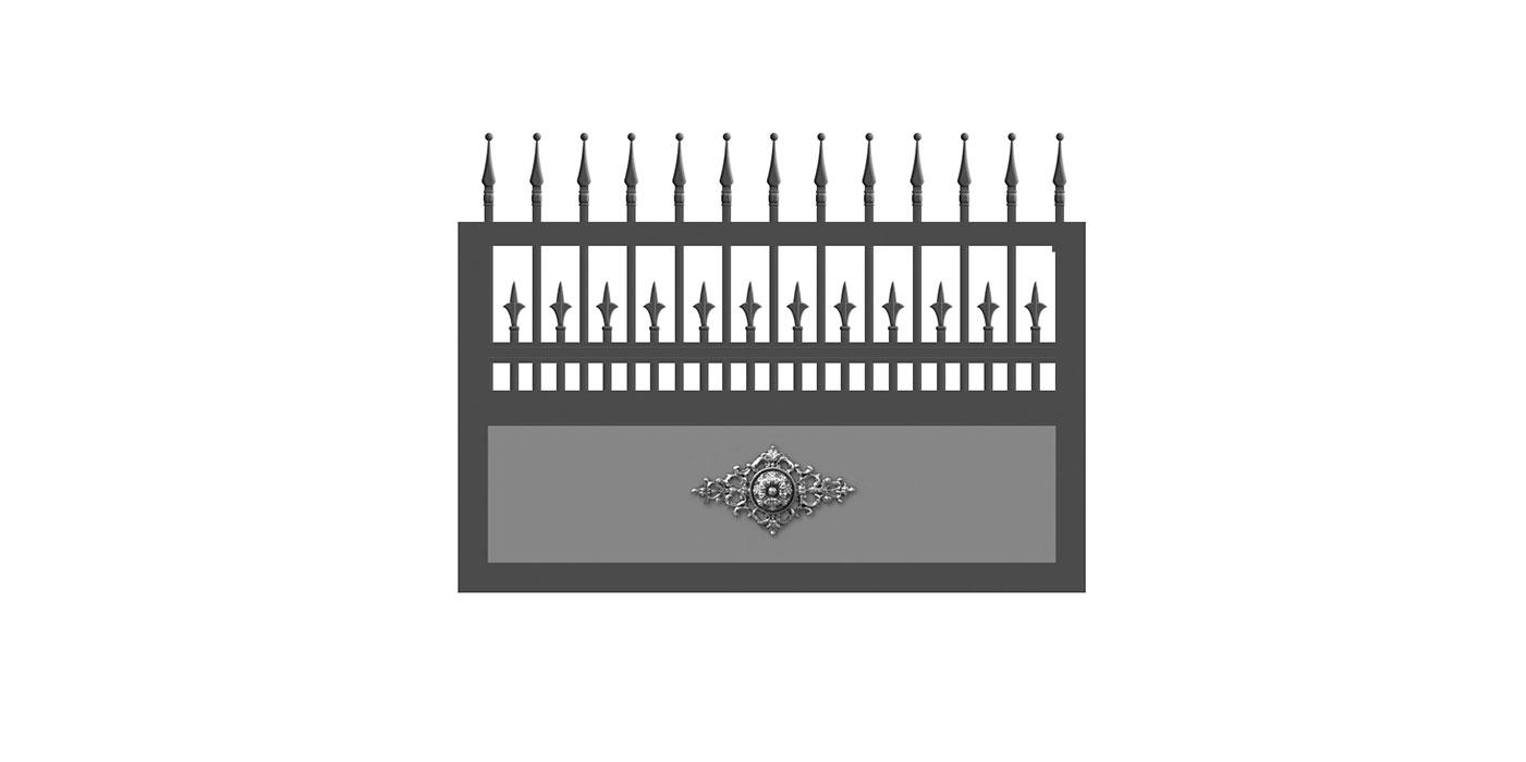 Venezia, Guardi, Österreich, Schmiedeeisenzaun, Zaun, hammerschlag, Schiebetor, Tor, Dekor, klassisch,