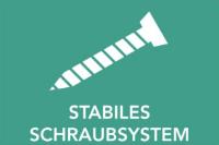 Stabiles Schraubsystem bei GUARDI
